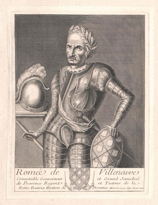 Villeneuve, Baron de Vence, Romée
