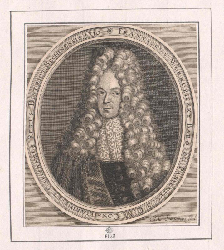 Woracziczky, Freiherr von Pabienitz, Franz Helfried