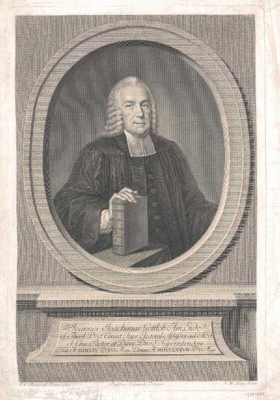 Amende, Johann Joachim Gottlob