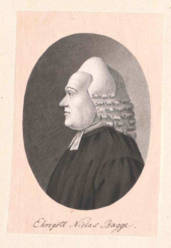Bagge, Ehregott Nikolaus
