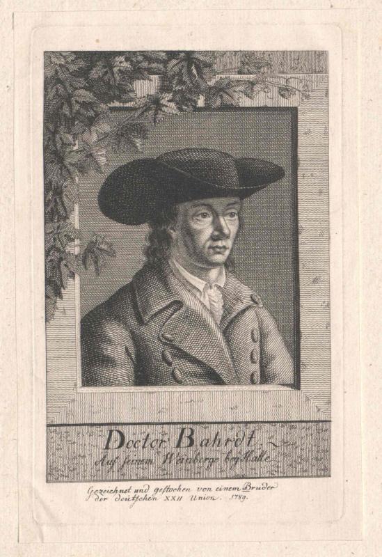 Bahrdt, Carl Friedrich (1741-1792)