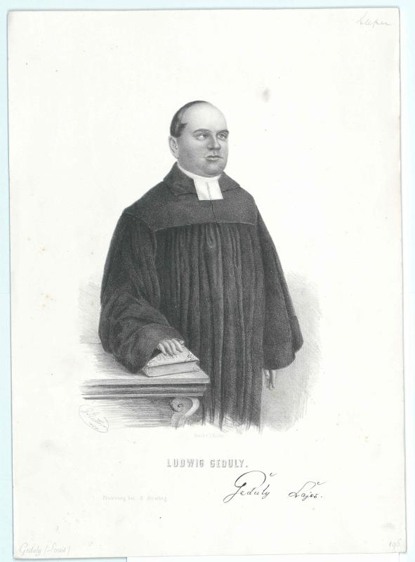 Geduly, Lajos