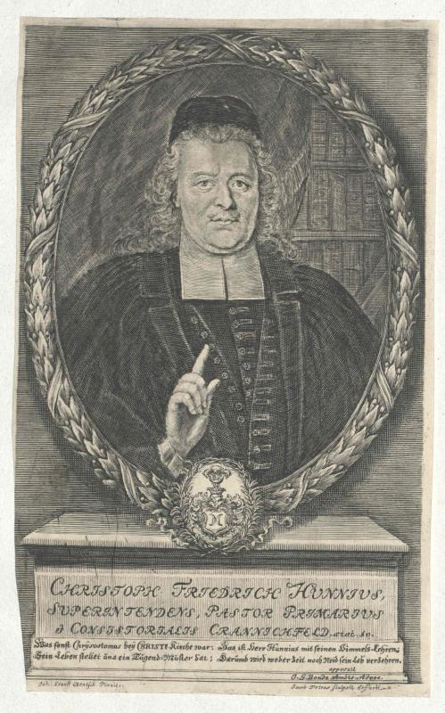 Hunnius, Christoph Friedrich