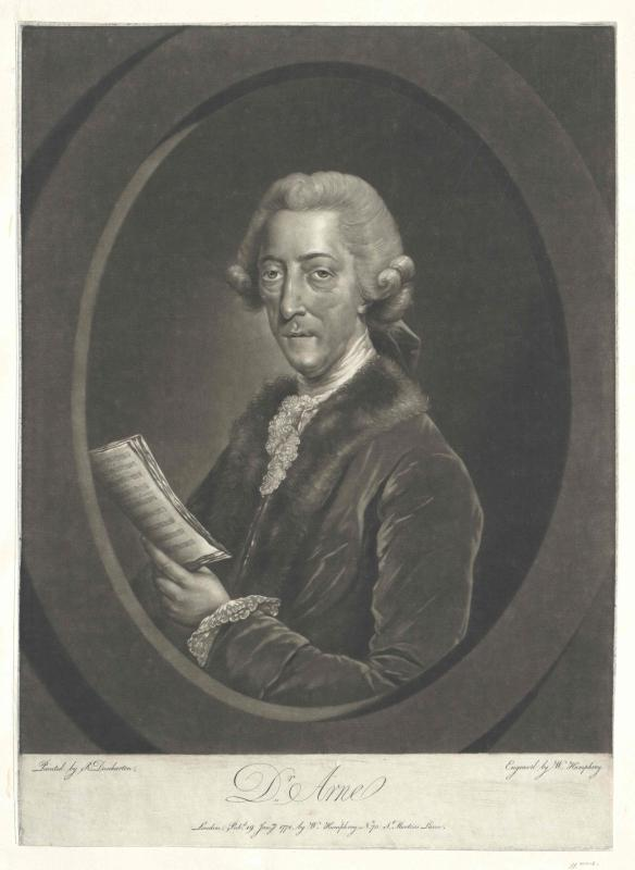 Arne, Thomas Augustine