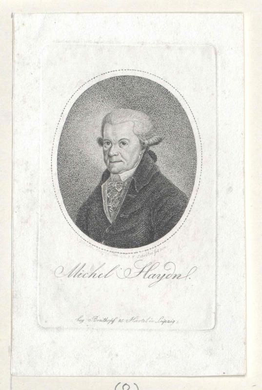 Johann Michael Haydn©Bildarchiv Austria, ÖNB