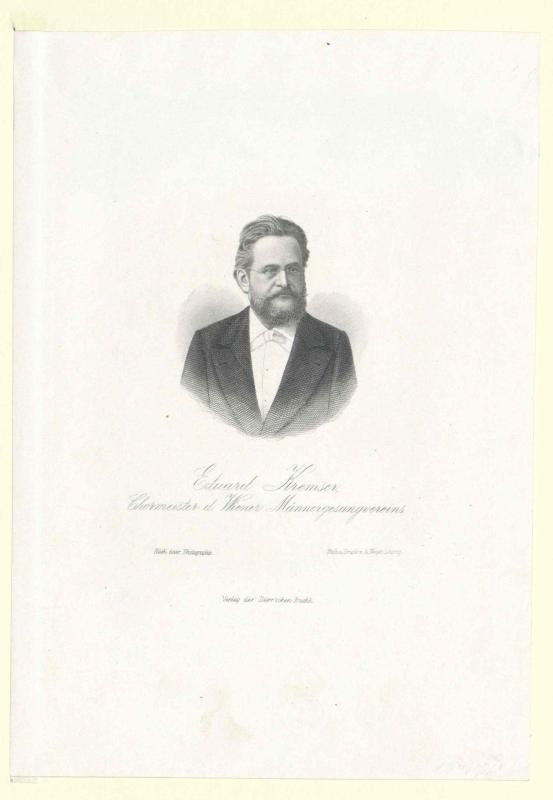 Kremser, Eduard