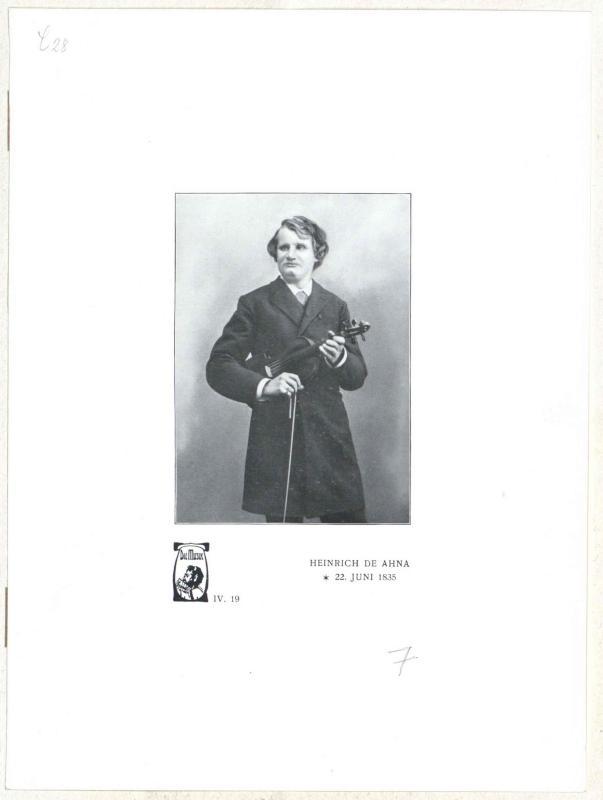 Heinrich de Ahna©Bildarchiv Austria, ÖNB