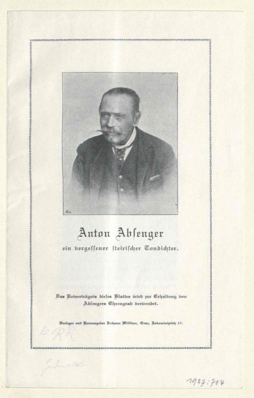 Absenger, Anton