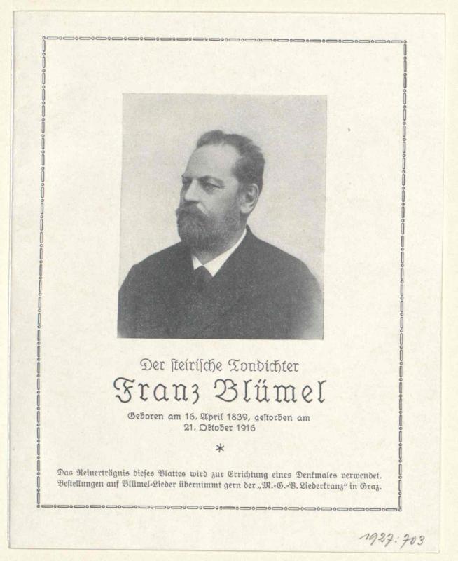 Blümel, Franz
