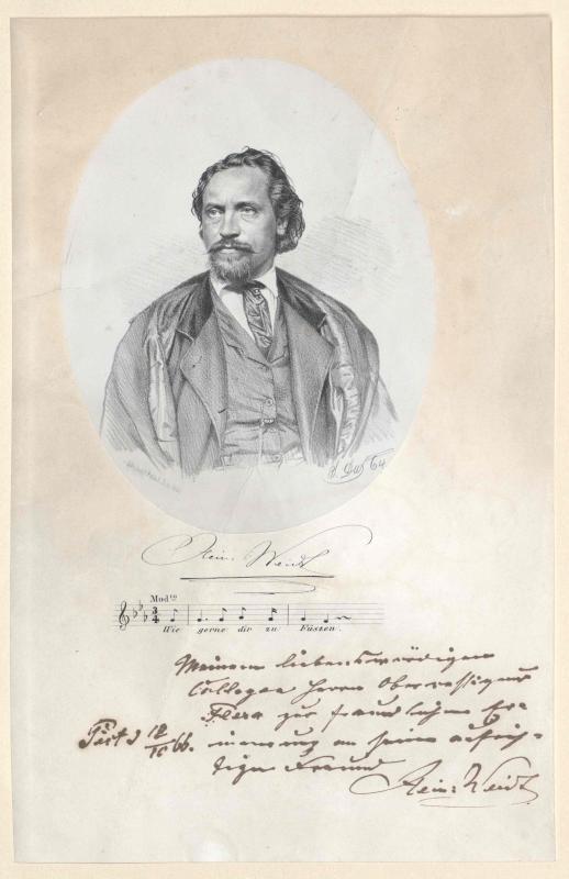 Heinrich Wilhelm Weidt©Bildarchiv Austria, ÖNB