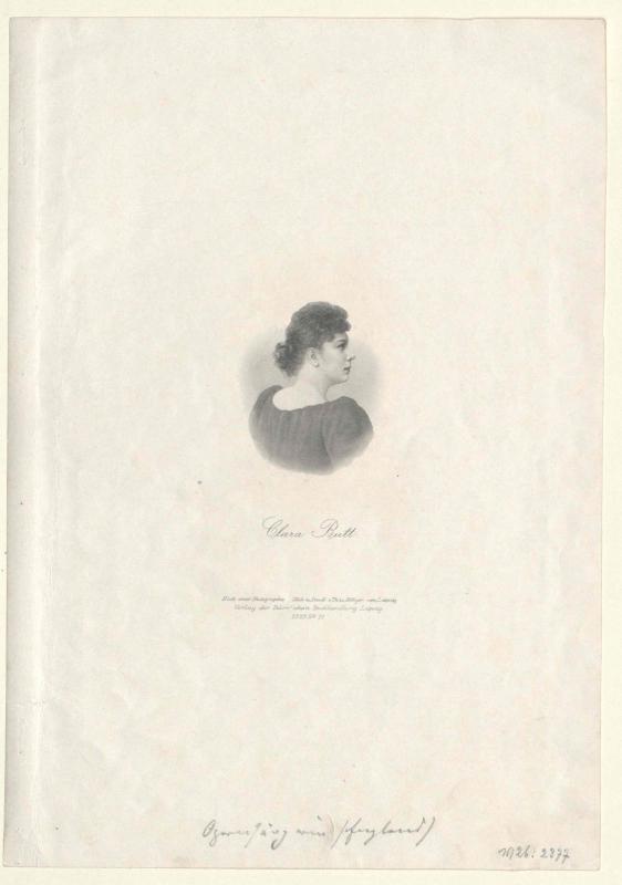 Butt, Clara Ellen