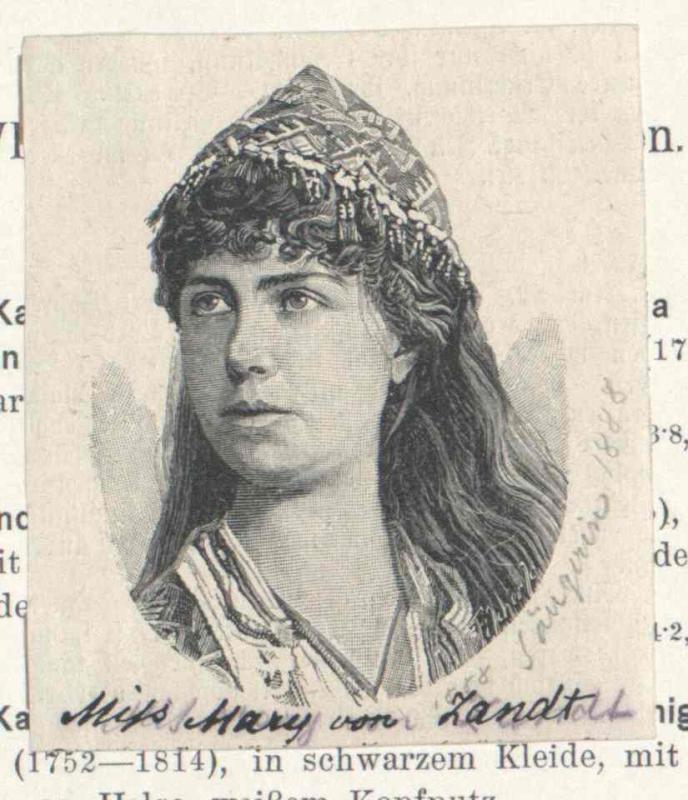 Zandt, Marie van