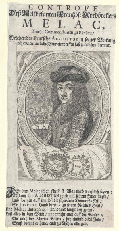 Mélac, Ezéchiel Comte de