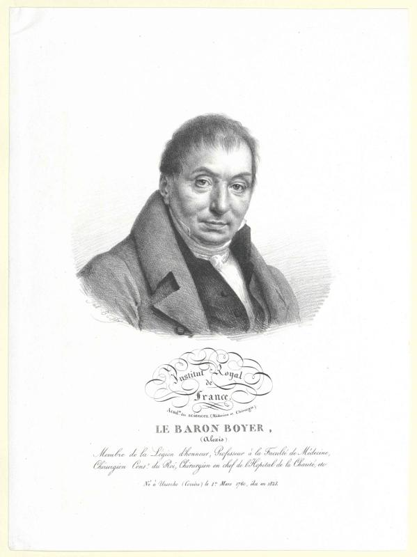 Boyer, Alexis Baron