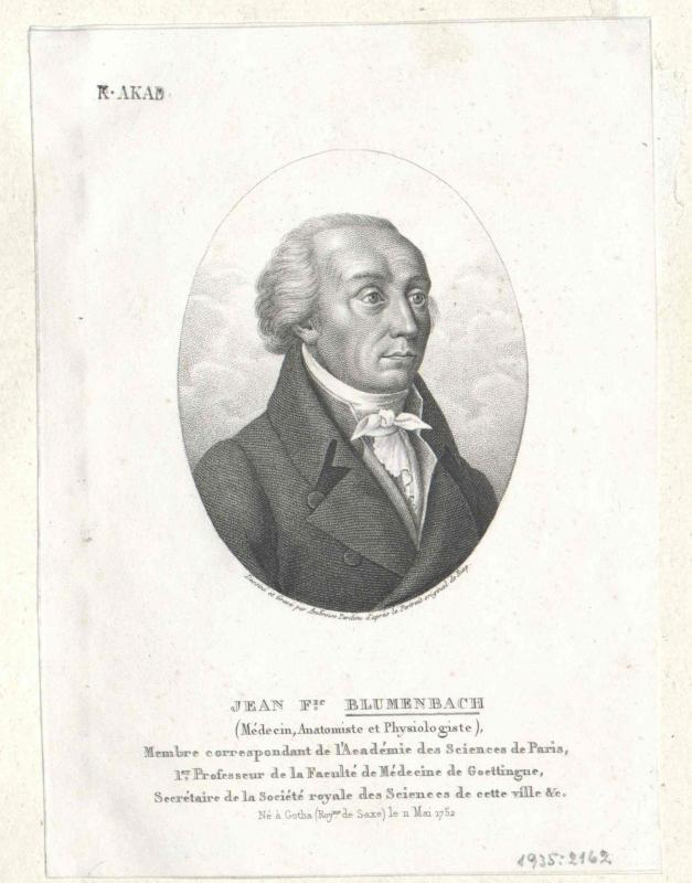 Blumenbach, Johann Friedrich