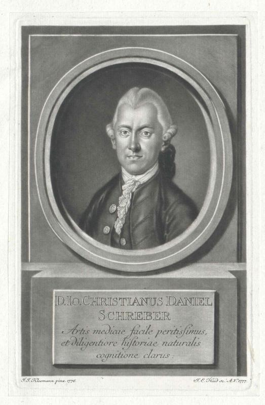 Schreber, Johann Christian Daniel