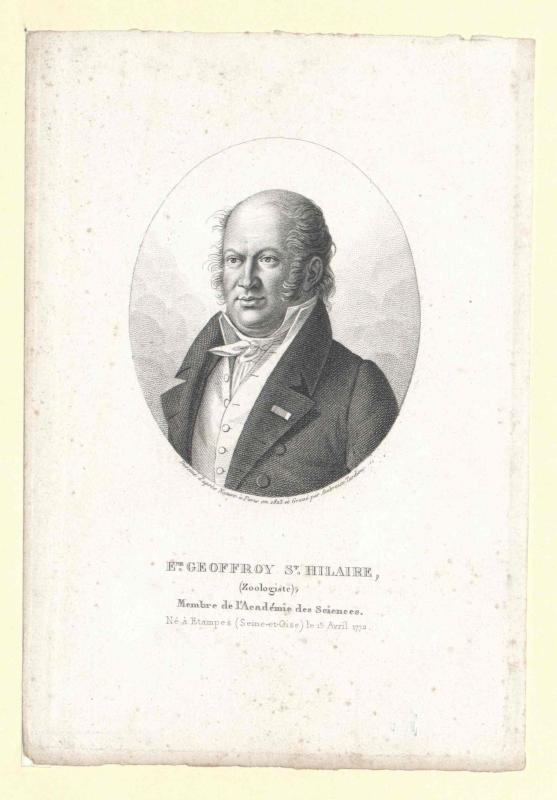 Geoffroy Saint-Hilaire, Etienne