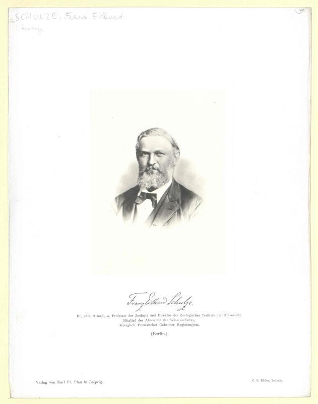 Schulze, Franz Eilhard