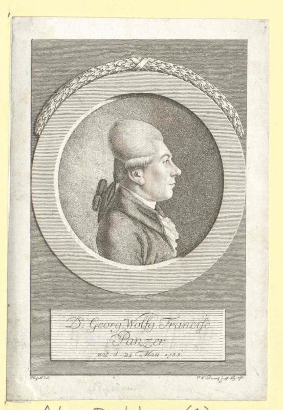 Panzer, Georg Wolfgang Franz