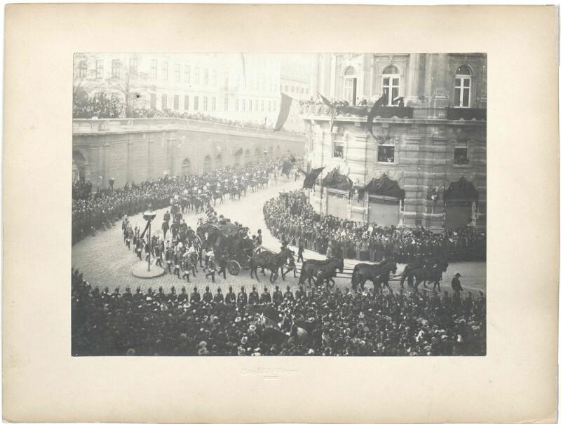 Begräbnis Kaiserin Elisabeth von Österreich