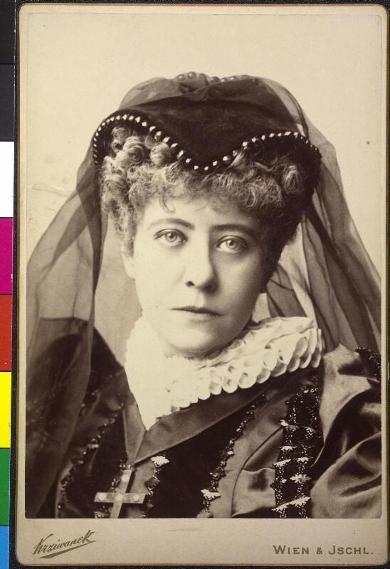 """Adele Sandrock als """"Maria Stuart"""""""
