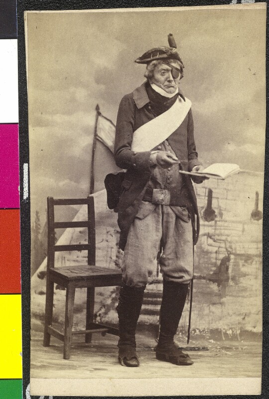 Johann Nestroy als Sansquartier