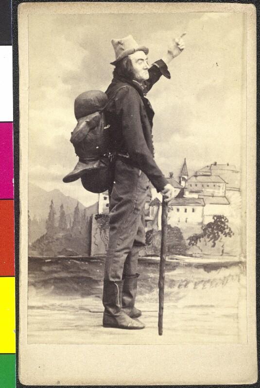 Johann Nestroy als Knieriem