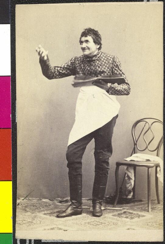 Johann Nestroy als Knitsch