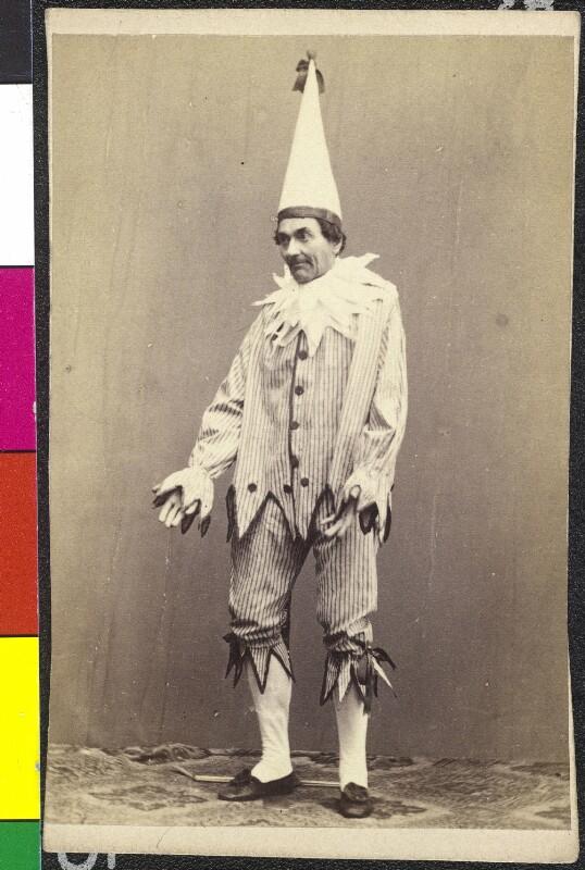 Johann Nestroy als Specht