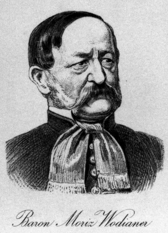 Baron Moritz Wodianer
