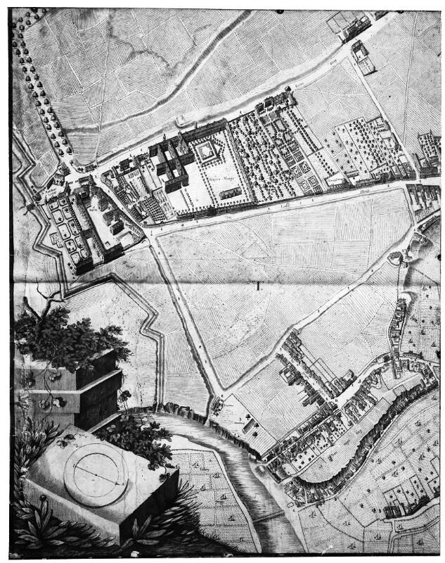 Josef Daniel Huber, Plan von Wien