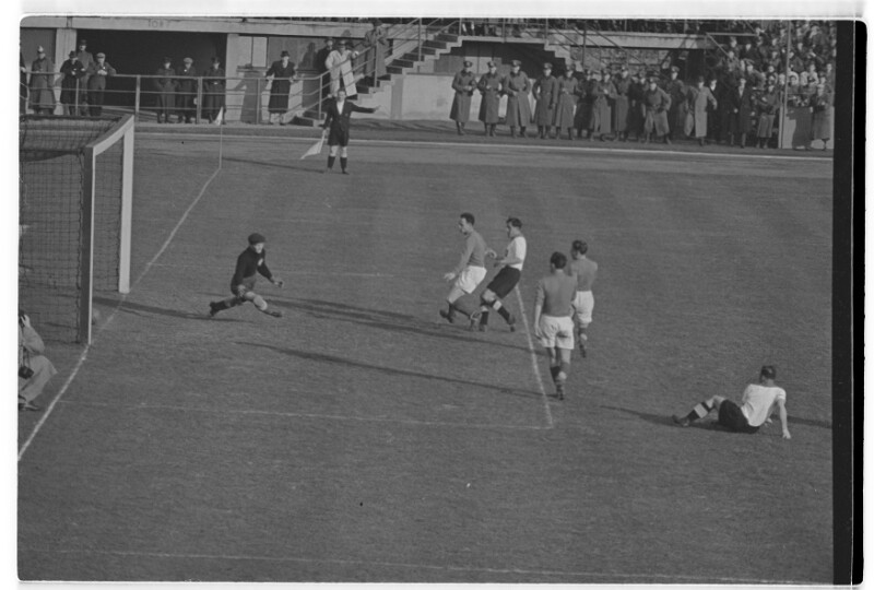 Fußball Deutschland-Jugoslawien 1:2