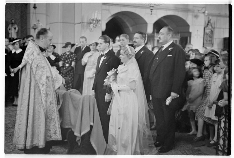 Hochzeit Mädi Epply mit Sepp Staudinger