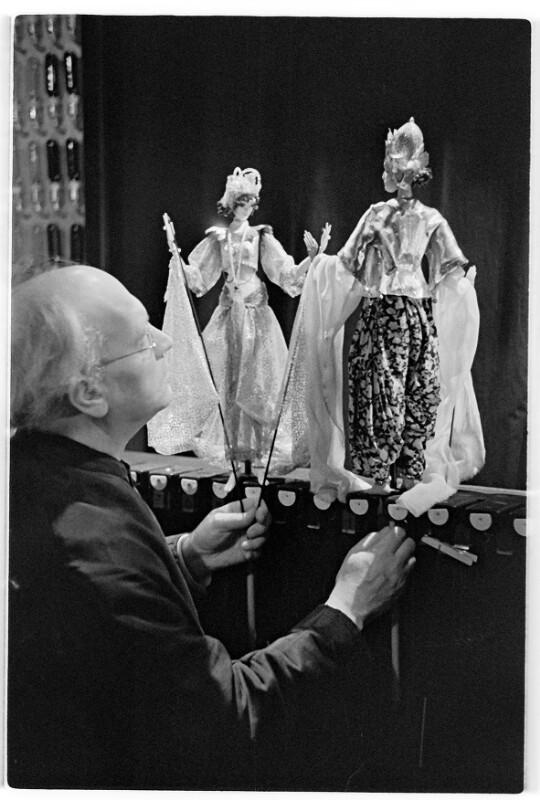 Richard Teschners Marionettentheater