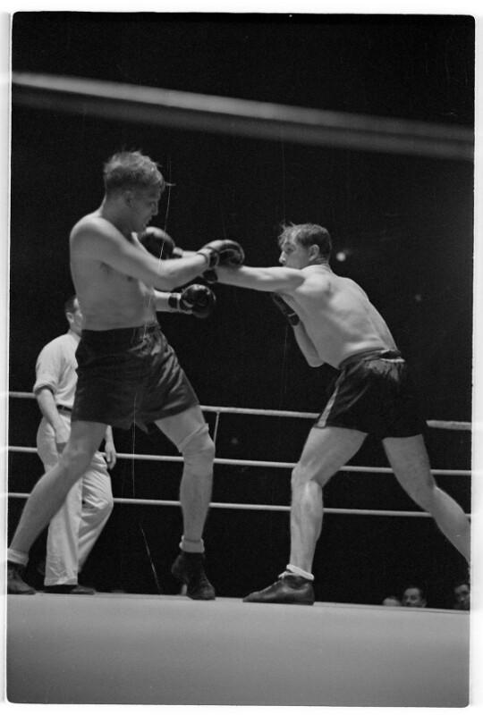 Boxkampf Lazek - Neusel