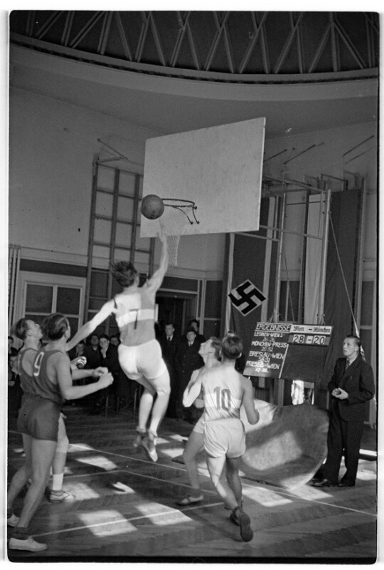 Basketball-Rundspiel