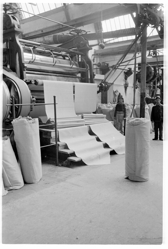 Hanf-Jute-Fabrik in Neufeld