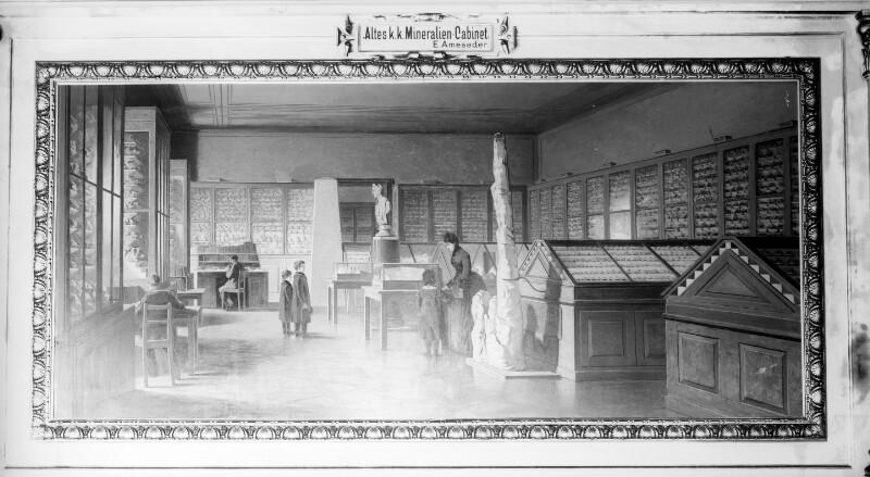 Das alte k.k. Mineralien-Kabinett