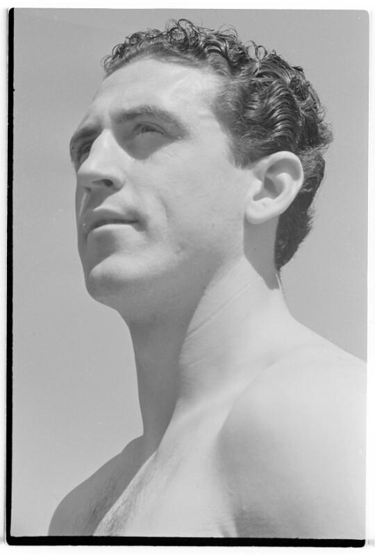 Der Boxer Joe Weidinger
