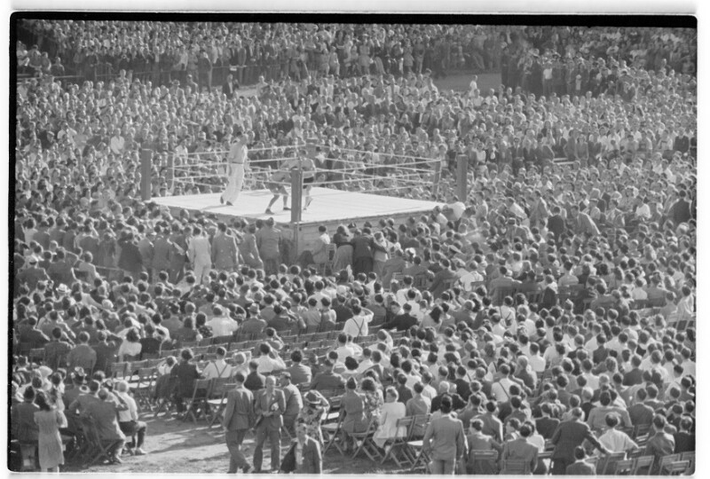 Boxkampf Weidinger - Jacques