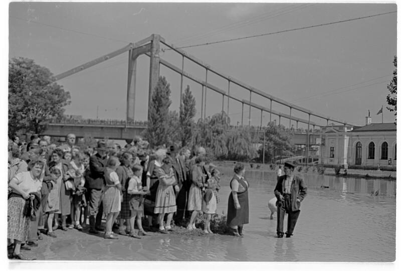 Hochwasser Reichsbrücke