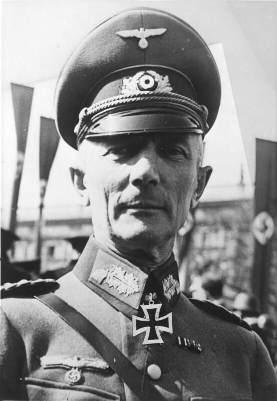 Generaloberst Fedor von Bock