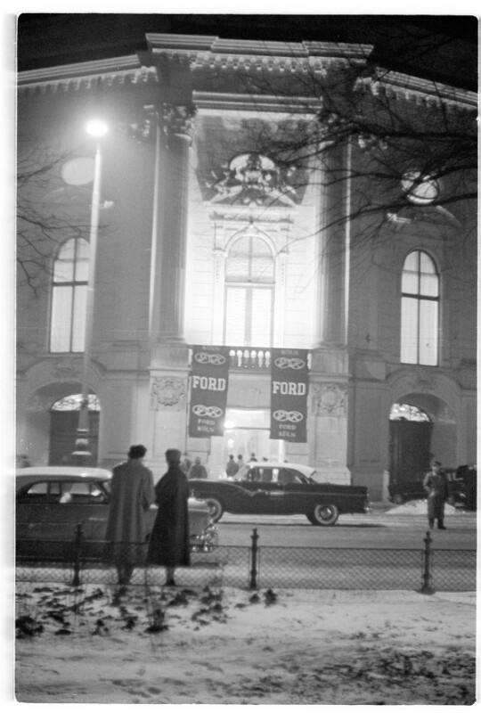 Ford-Präsentation im Palais Auersperg