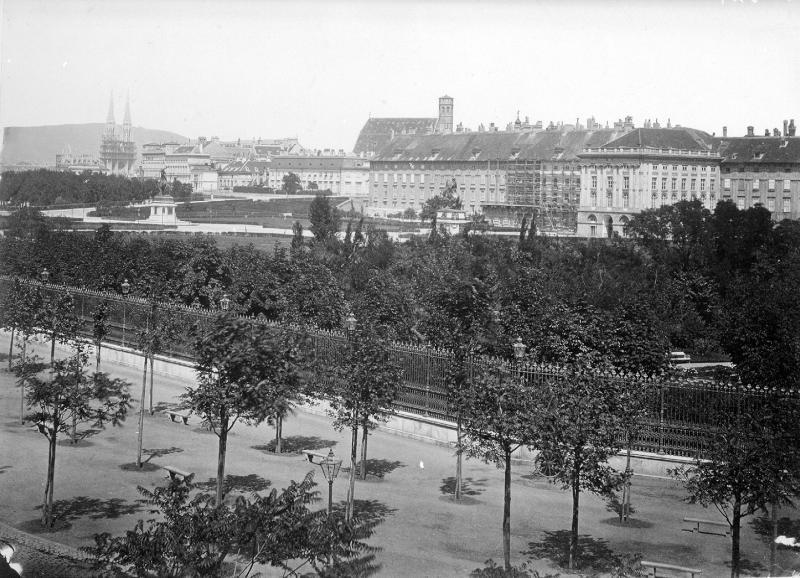 Wien 1, Heldenplatz und Hofburg
