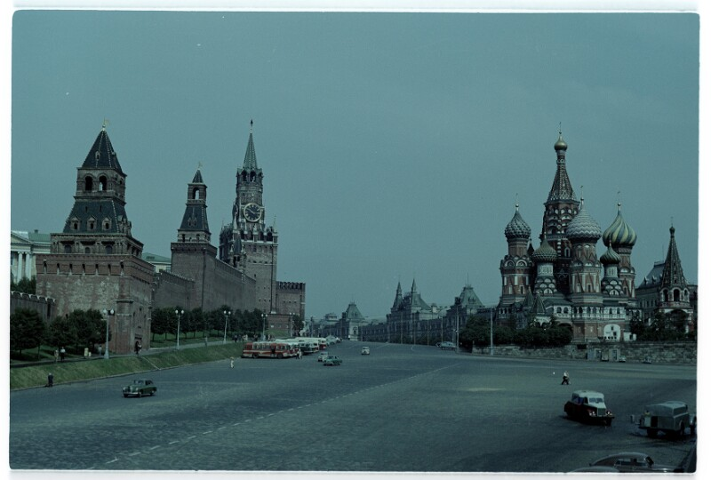 Reise von Bundeskanzler Raab in die Sowjetunion