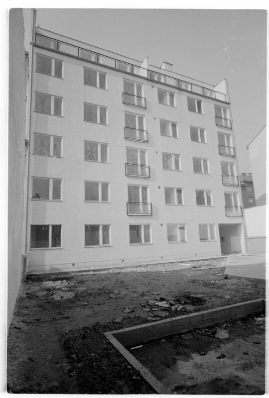 Wohnhausanlage Beckmanngasse in Bau