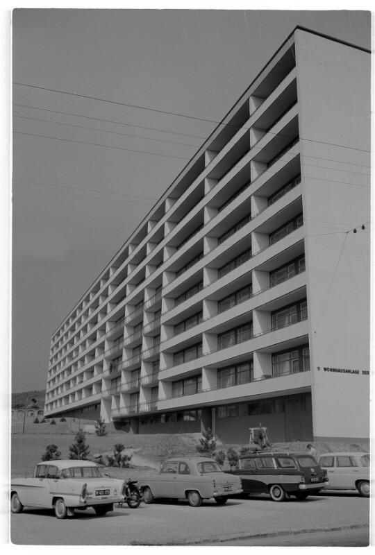 Wohnhausanlage Starkenburggasse in Bau