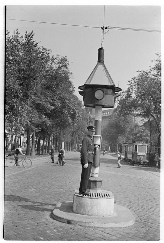 Verkehrspolizist in Wien