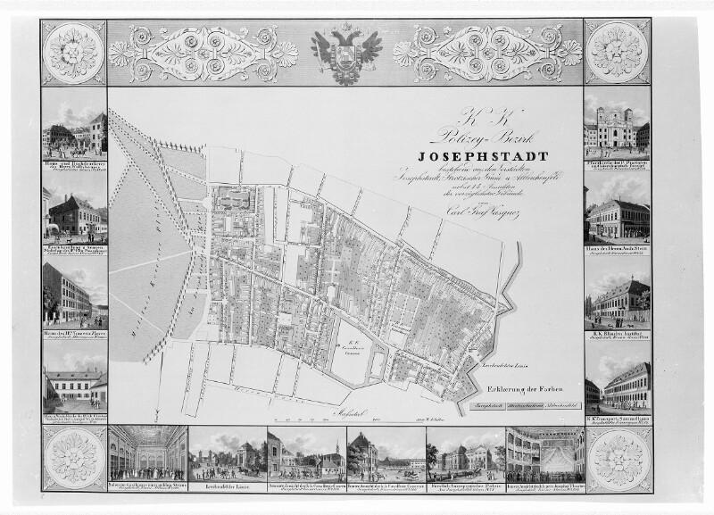 Wien, Plan des 8. Bezirks