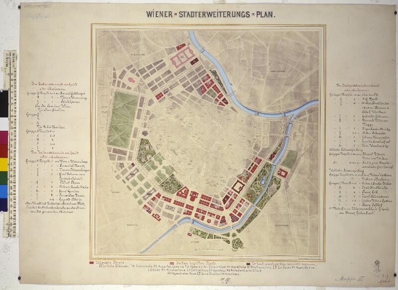 Wiener Stadterweiterungsplan, 1868